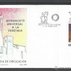 Sellos: ESPAÑA 1997 SOBRE PRIMER DIA DE CIRCULACION MONUMENTO UNIVERSAL A LA VENDIMIA. Lote 156551430