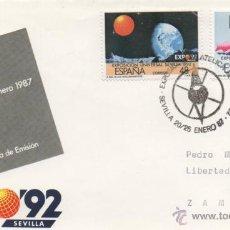 Sellos: MATASELLO ESPECIAL, RUMBO AL 92, SEVILLA 1987.. Lote 48313189