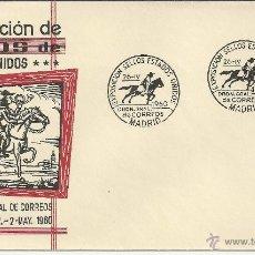 Sellos: MADRID 1960 PONEY EXPRESS TRANSPORTE EXPO SELLOS DE ESTADOS UNIDOS. Lote 48903142