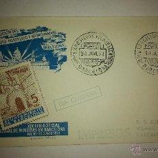 Sellos: XIX FERIA OFICIAL E INTERNACIONAL DE MUESTRAS. BARCELONA 1951. Lote 48999338