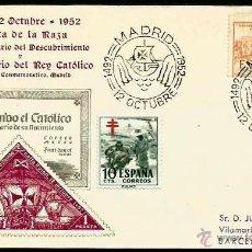 Sellos: EDIFIL 1112 SPD FIESTA DE LA RAZA 1952. Lote 32141862