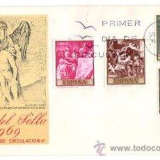 Sellos: SOBRE PRIMER DIA DE CIRCULACION. DIA DEL SELLO 1969. Lote 51422399