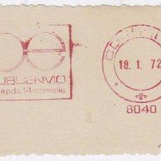 Sellos: FRANQUEO MECÁNICO Nº 6040, PUBLIENVIO, CORNELLA (AÑO1972). Lote 52159328