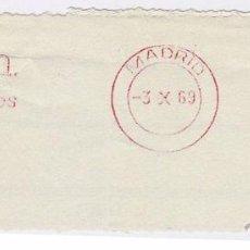 Sellos: FRANQUEO MECÁNICO Nº 5882, TRIADO, SA, ACEROS INOXIDABLES (AÑO1969). Lote 52160293