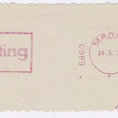 Sellos: FRANQUEO MECÁNICO Nº 5860, MAILING (AÑO1970). Lote 52160516