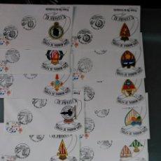 Sellos: ESPAÑA CONJUNTO 14 SOBRES CONMEMORATIVOS CIUDADES SEDES COPA MUNDIAL FUTBOL ESPAÑA 82. Lote 52164882
