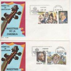 Sellos: MAESTROS DE LA ZARZUELA. 1983. Lote 52299909