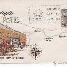 Selos: POTES (PICOS DE EUROPA). SPD. MADRID 1964. Lote 52865815