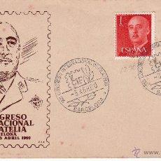 Sellos: SPD- MATASELLOS PRIMER DIA I CONGRESO INT. FILATELIA---1960---- FNMTB. Lote 53859020