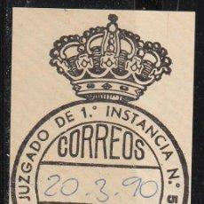 Sellos: FRANQUICIA, VALENCIA, JUZGADO DE PRIMERA INSTANCIA Nº 5. Lote 54327541