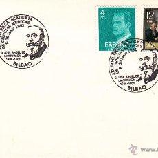 Sellos: SOBRE: 1992 BILBAO. ACADEMIA CIENCIAS MEDICAS - JOSE ANGEL DE CAMIRUAGA. Lote 195326926