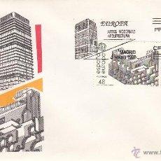 Sellos: SOBRE: 1987 MADRID. ARTES MODERNAS ARQUITECTURA. Lote 54651324