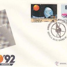 Sellos: SOBRE: 1987 SEVILLA. EXPOSICION FILATELICA RUMBO AL 92 - PRIMER DIA DE EMISION. Lote 295462223