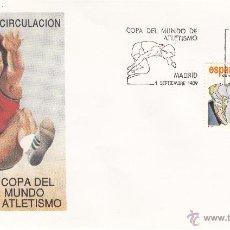 Briefmarken - SOBRE: 1989 MADRID. V COPA DEL MUNDO DE ATLETISMO - 54907672