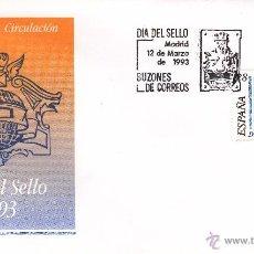 Sellos: SOBRE: 1993 MADRID. DIA DEL SELLO - BUZONES DE CORREOS. Lote 55090360