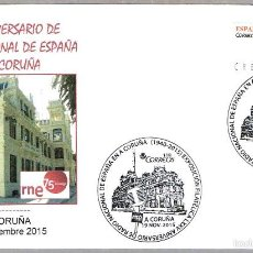 Sellos: MATASELLOS 75 AÑOS RADIO NACIONAL DE ESPAÑA EN A CORUÑA. A CORUÑA, GALICIA, 2015. Lote 55792290