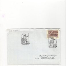 Sellos: SOBRE. STMO. CRISTO DE LA FE Y CONSUELO, XVIII EXPO.FILAT.´´TUCCI´´, MARTOS, 1994.. Lote 56167670