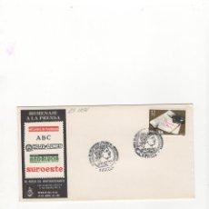 Briefmarken - SOBRE. III FERIA DE ANTIGUEDADES , HOMENAJE A LA PRENSA,SECTOR FILAT. Y NUMISMA.SEVILLA, 1981. - 56184175