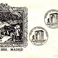 Sellos: SOBRE: 1958 MADRID. FUSILAMIENTOS 2 DE MAYO DE GOYA. Lote 56391806