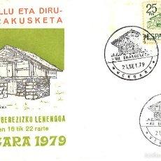 Sellos: EXPOSICIÓN FILATÉLICA BERGARA 1979.. Lote 57077248