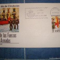 Sellos: DIA DE LAS FUERZAS ARMADAS 29/5/1981. Lote 57329777