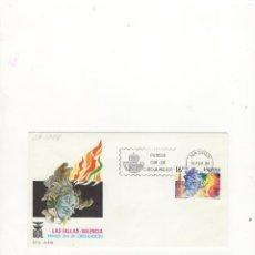 Sellos: SOBRE PRIMER DIA DE CIRCULACION, LAS FALLAS, VALENCIA, MADRID, 1984.. Lote 57486013