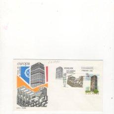 Sellos: SOBRE PRIMER DIA DE CIRCULACION, EUROPA, ARTES MODERNAS, ARQUITECTURA, MADRID, 1987.. Lote 57487116