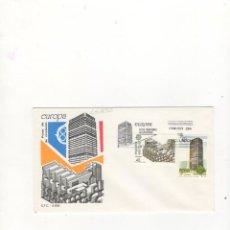 Sellos: SOBRE PRIMER DIA DE CIRCULACION, EUROPA, ARTES MODERNAS, ARQUITECTURA, MADRID, 1987.. Lote 57503724