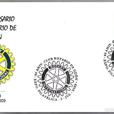 Sellos: MATASELLOS 80 AÑOS CLUB ROTARIO DE GIJON. GIJON, ASTURIAS, 2009. Lote 58329419