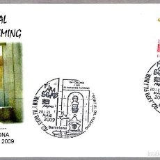 Sellos: MATASELLOS FUENTE AL DOCTOR FLEMING. BARCELONA 2009. Lote 58343967