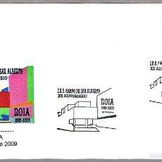Sellos: MATASELLOS 20 AÑOS I.E.S. CAMPO DE SAN ALBERTO. NOIA, LA CORUÑA, GALICIA, 2009. Lote 58344055