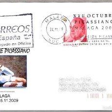 Sellos: RODILLO XXII OCTUBRE PICASSIANO - PICASSO. MALAGA, ANDALUCIA, 2009. Lote 58344312
