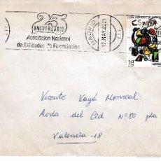 Sellos: 1982 MADRID. 25 ANIVERSARIO ASOCIACION NACIONAL ENTIDADES FINANCIACION MATASELLOS ESPECIAL SOBRE CIR. Lote 58382761