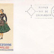 Sellos: TRAJES TIPICOS ESPAÑOLES 1971 TRAJE DE VALLADOLID (EDIFIL 2015) EN SPD DEL SFC MATASELLOS MADRID.. Lote 6086029
