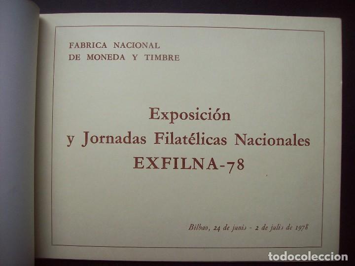 Sellos: EXFILNA BILBAO 1978 . EXPOSICION Y JORNADAS FILATELICAS NACIONALES - Foto 2 - 61439063