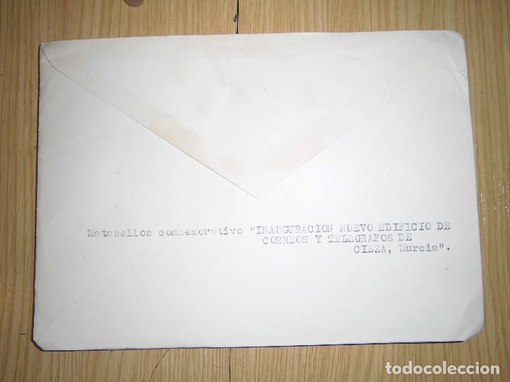 Sellos: dos sobres con matasellos y sellos 1955 - Foto 3 - 62901172