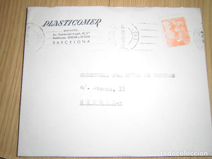 Sellos: sobres con matasellos y sellos 1980, 1956, 1984 - Foto 3 - 62901948