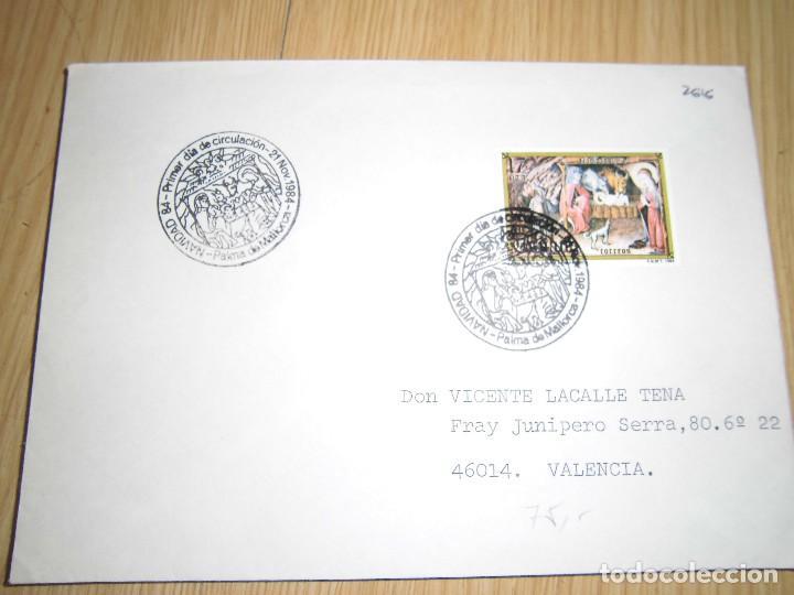 Sellos: sobres con matasellos y sellos 1980, 1956, 1984 - Foto 4 - 62901948