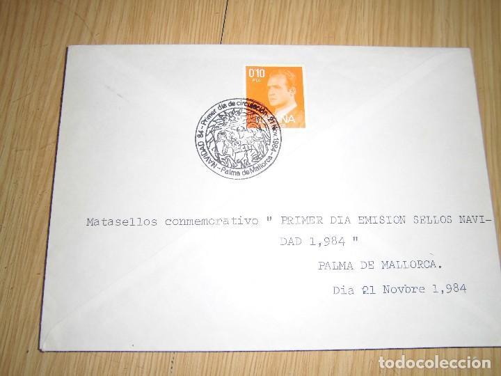 Sellos: sobres con matasellos y sellos 1980, 1956, 1984 - Foto 5 - 62901948