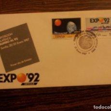 Sellos: EXPO 92 SEVILLA- EXPOSICION FILATELICA RUMBO. Lote 68512985