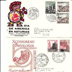 Sellos: LOTE 4 MATASELLOS DE OVIEDO 1965-1965-1987-1987. Lote 69641717
