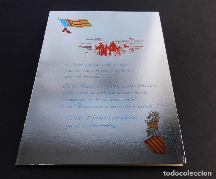 Sellos: III CENTENARIO DE TEMPLO NTRA SRA DE LOS DESAMPARADOS 23 MAYO 1967 Y SOBRE CON TARJETA NAVIDAD 1967 - Foto 4 - 70050181