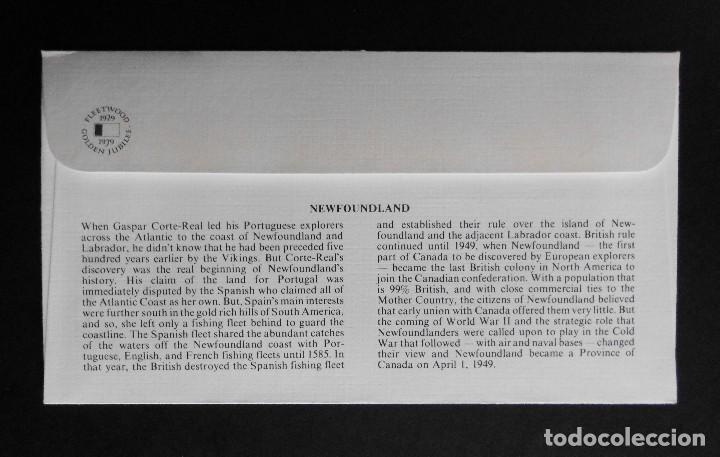 Sellos: CANADA BANDERAS PROVINCIALES Y TERRITORIALES 15 VI 1979, FDC Provincial and Territorial Flag Stamps - Foto 3 - 70067165