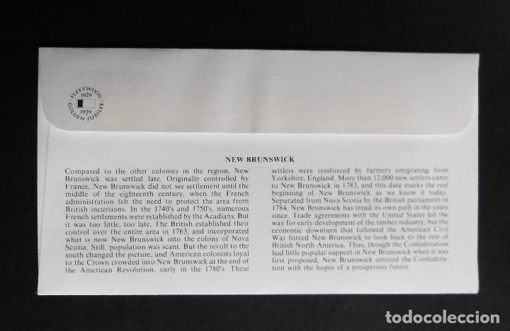 Sellos: CANADA BANDERAS PROVINCIALES Y TERRITORIALES 15 VI 1979, FDC Provincial and Territorial Flag Stamps - Foto 19 - 70067165