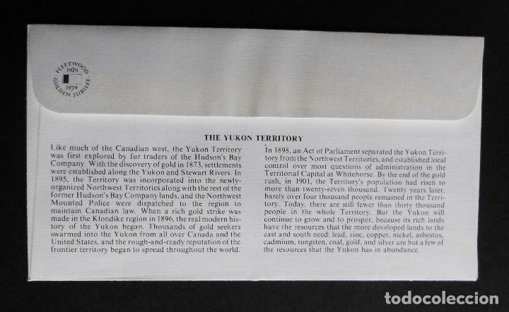 Sellos: CANADA BANDERAS PROVINCIALES Y TERRITORIALES 15 VI 1979, FDC Provincial and Territorial Flag Stamps - Foto 25 - 70067165