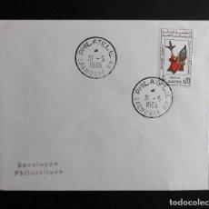 Sellos: ARGELIA FDC ARTESANIA DEL SAHARA 31 MAYO 1965. Lote 70098277