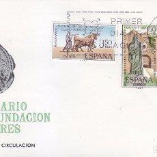 Sellos: BIMILENARIO DE LA FUNDACION DE CACERES 1967 (EDIFIL 1827/29) EN SOBRE PRIMER DIA DE MUNDO FILATELICO. Lote 35384612