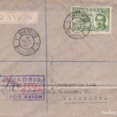 Sellos: CONDE DE SAN LUIS DIA DEL SELLO FIESTA DE LA HISPANIDAD 1945 (EDIFIL 990) EN SPD MATASELLOS MADRID.. Lote 74391287