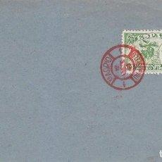 Sellos: CONDE DE SAN LUIS DIA DEL SELLO FIESTA DE LA HISPANIDAD 1945 (EDIFIL 990) EN SPD MADRID TINTA ROJA.. Lote 74391527