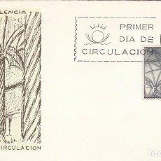 Sellos: EDIFIL 1652, VALENCIA, LA LONJA, PRIMER DIA DE 25-10-1965 EN SOBRE DEL SFC. Lote 97596460